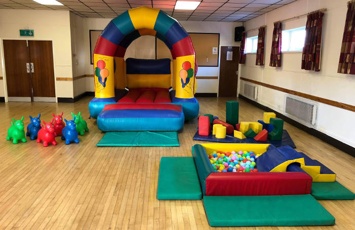 Package deal: Soft Play toys plus Bouncy Castle, equipment and facilities